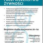 """,,Produkcja i bezpieczeństwo żywności""""– kierunek inżynierski w Państwowej Wyższej Szkole Zawodowej w Krośnie – trwa rekrutacja."""