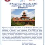 Zapraszam na VII Konferencję Zielarską Kobiet, 29 czerwca – 01 lipca 2018 roku w Korycinach (podlaskie).